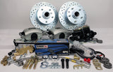 55-58 Chevrolet Full Size MP Brakes DB1711MHP - Legend Series Front Disc Brake Conversion Kit with Manual Option - Performance Upgrade