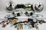 55-58 Chevrolet Full Size MP Brakes DB1711P - Legend Series Front Disc Brake Conversion Kit with Power Option