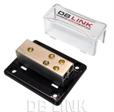 DB Link Ground Distribution Block ((1) 4 Ga. In - (4) 8 Ga. Out) - NGB1448X