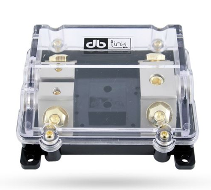 DB Link ANL Fuse Power Distribution Block (0 Ga. In / (2) 4 Ga. Out) - NANLFB02