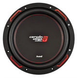 "Cerwin Vega HED7 Subwoofer (10"" - 1000W Max - Single 4 Ohm) H7104S"