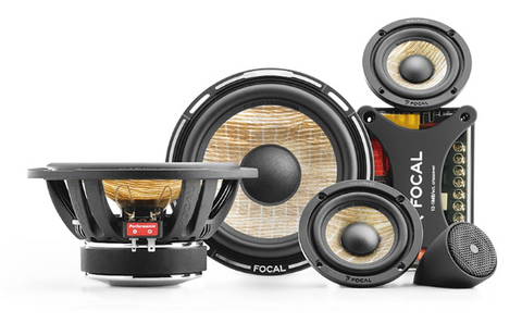 "Focal Flax Cone 6.5"" & 3"" 3-Way Component Kit PS165FX3"