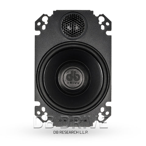 "DB Drive PTS46 4 x 6"" 2-Way Speakers / 180 Watts"