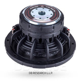 "DB Drive PTW10D2 10"" Subwoofer / 1750 Watts / 2 Ω Dual Voice Coil"
