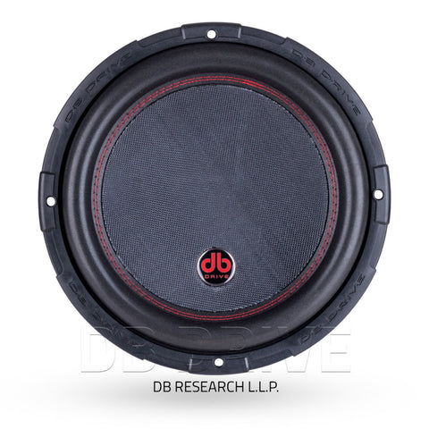 "DB Drive PTW15D2 15"" Subwoofer / 1750 Watts / 2 Ω Dual Voice Coil"
