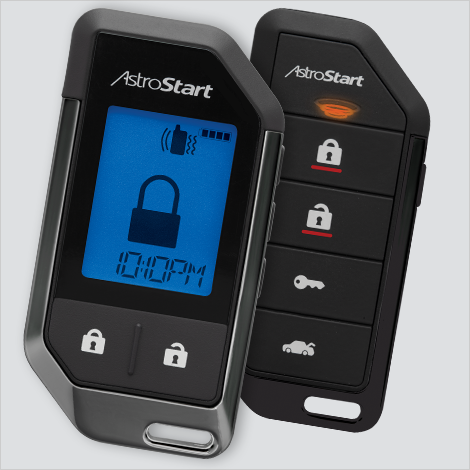 AstroStart DS4+ Remote Starter, 2-Way LCD