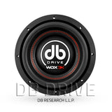 "DB Drive WDX10 3KD2 10"" Competition Subwoofer / 1500 Watts / Dual 2 Ohm Voice Coil"