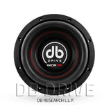 "DB Drive WDX8 3K 8"" Competition Subwoofer / 1200 Watts / Dual 4 Ohm Voice Coil"