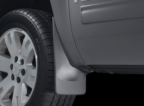 WeatherTech Black Moulded Custom Fit Mudflaps
