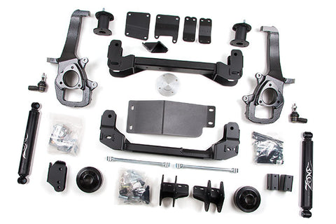 "Zone 4"" Suspension Lift Kit; D42N; 13-19 Ram 1500; 4 Front, 2 Rear"