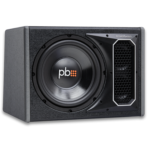 "Powerbass PS-WB101 10"" Vented Loaded Enclosure"