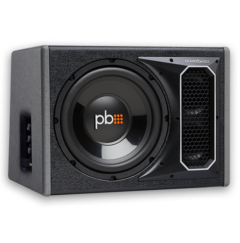 "Powerbass PS-AWB101 Single 10"" Amplified Bass Enclosure"