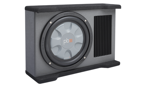 "Powerbass PS-ADF110T 10"" Amplified Downfiring Enclosure"