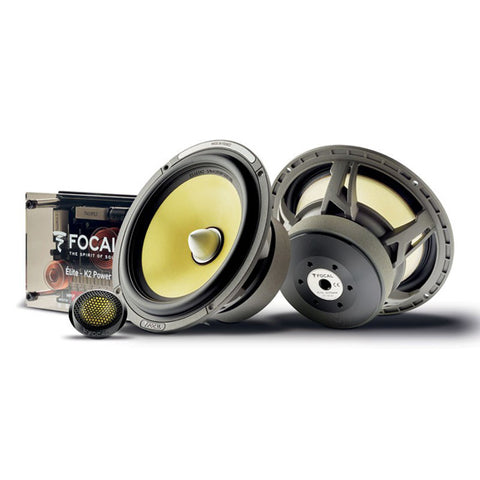 "Focal Elite K2 ES 165 K2 6.5"" Two Way Component Kit"