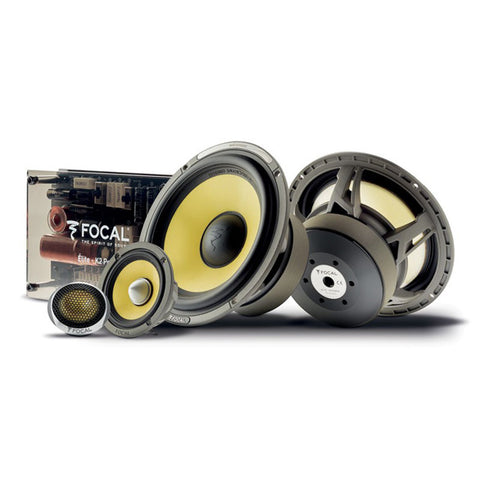 "Focal Elite K2 ES 165 KX3 6.5"" 3-Way Component Kit"