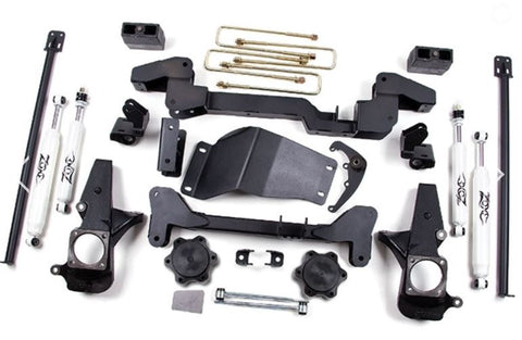 "Zone Offroad 01-10 Chevy/GMC 4WD 6"" Suspension System - C4"