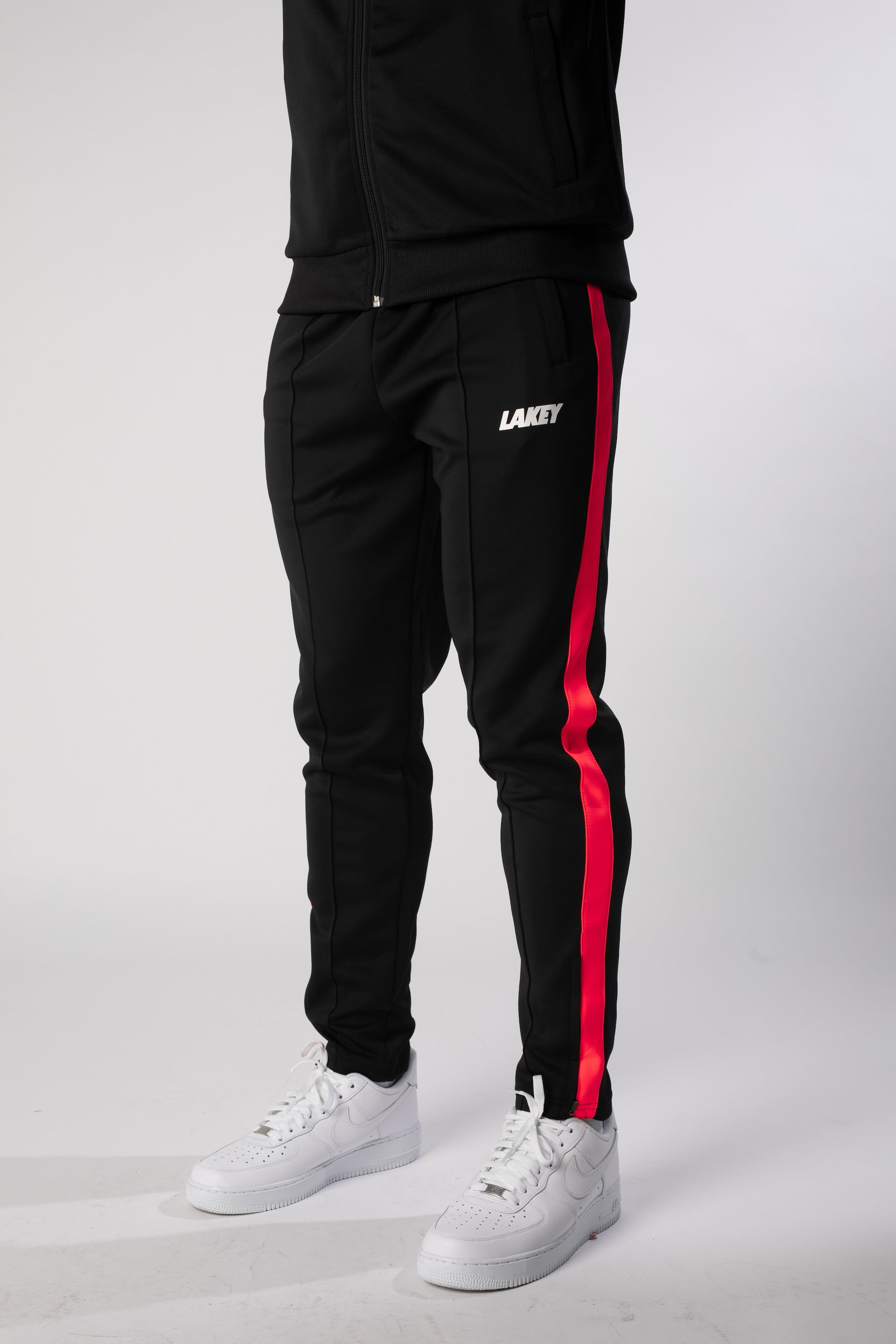 RETRO MOD TRACKPANTS - INFRARED - Lakey