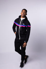 OG CHEVRON HOOD - BLACK