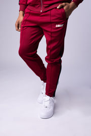 RETRO MOD TRACKPANTS - MAROON