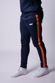 RETRO MOD II TRACKPANTS - NAVY/TANGERINE