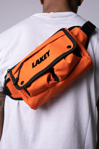 NEON ORANGE WAIST PACK - Lakey