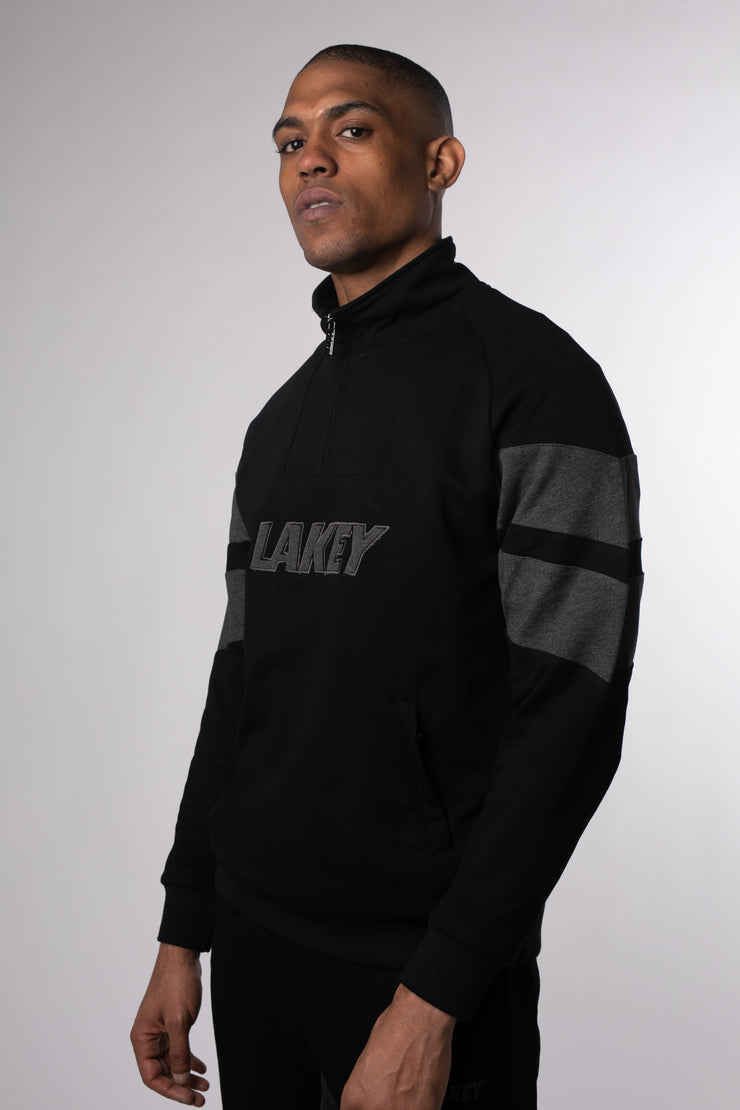 BLACK STEEL CHEVY II FLEECE PULLOVER