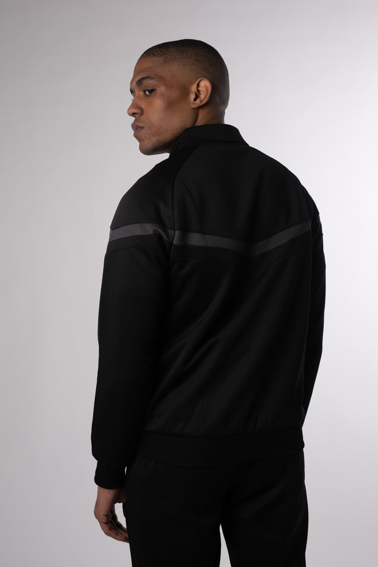 CHEVRON PLUS TRACKTOP BLACK STEEL