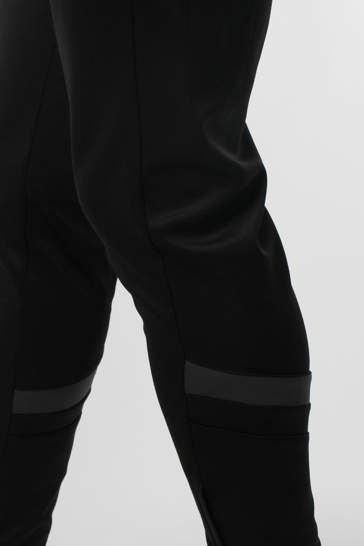 CHEVRON PLUS TRACKPANTS BLACK STEEL