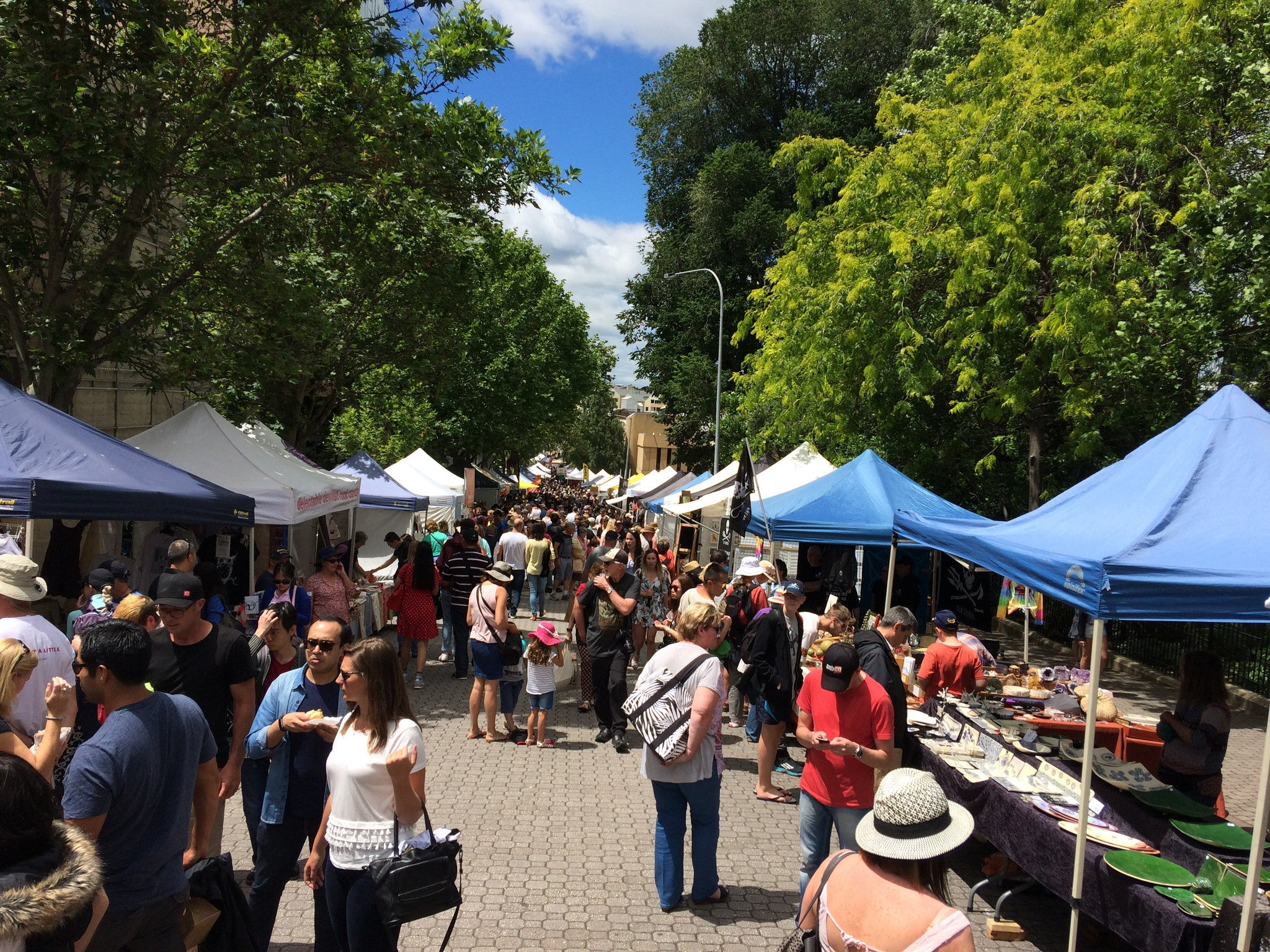 Hobart and Home Again: Markets