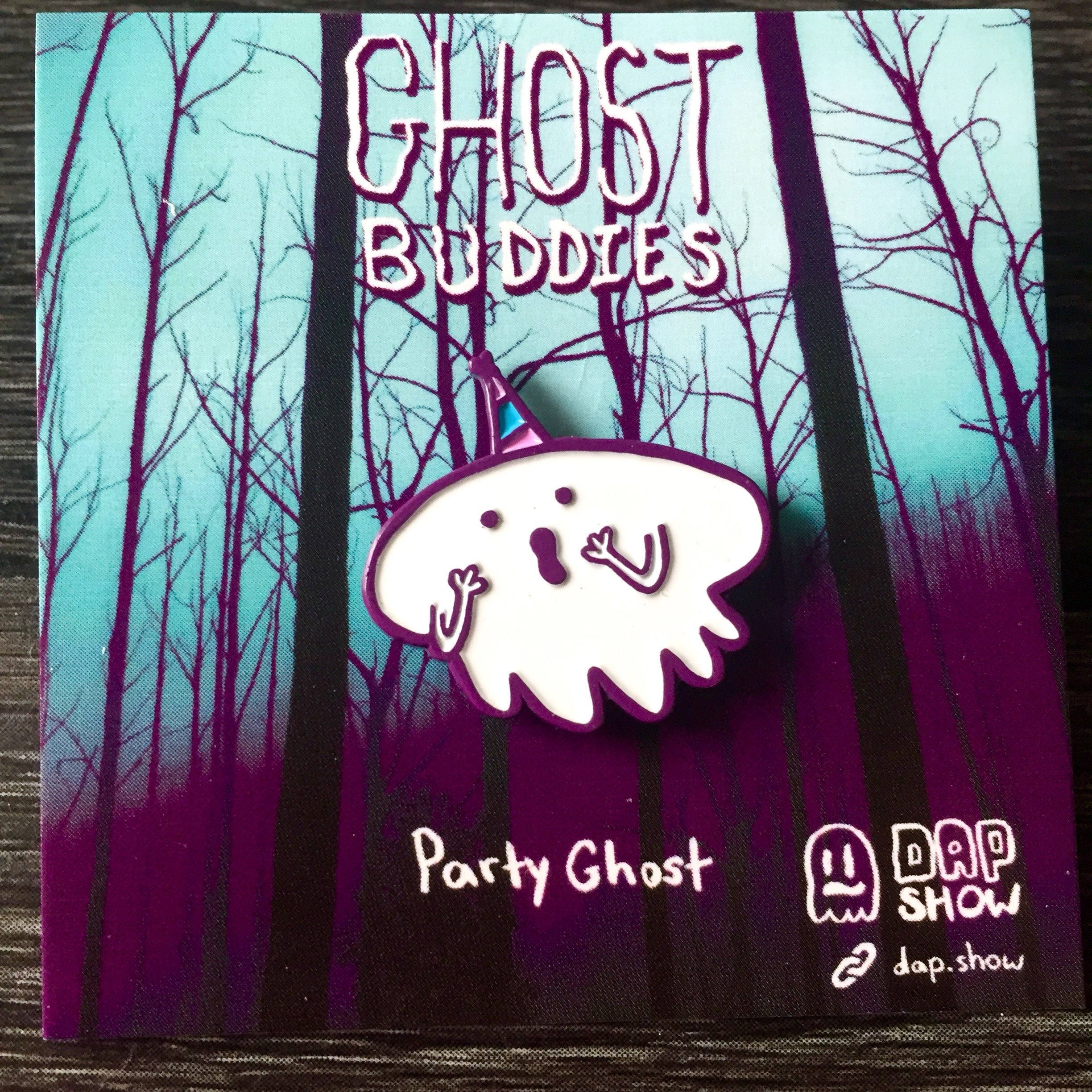 Party Ghost Pin