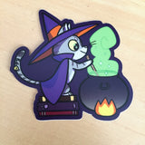 Witchy Kitty Sticker