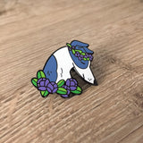 SECONDS SALE - Flower Dog Pins