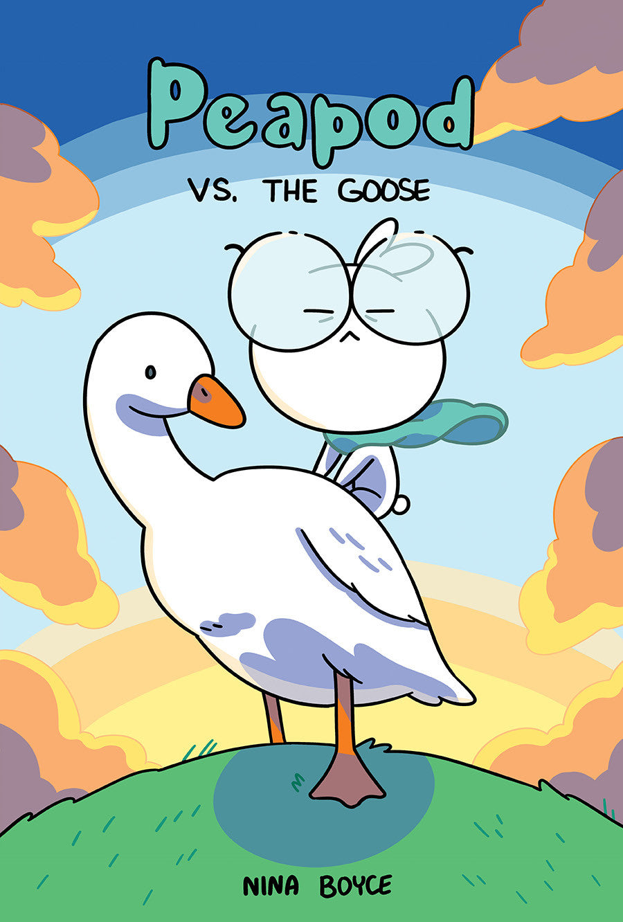 peapod vs the goose comic cover