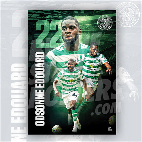 Celtic FC Odsonne Edouard Poster - Official Licensed A3 Poster