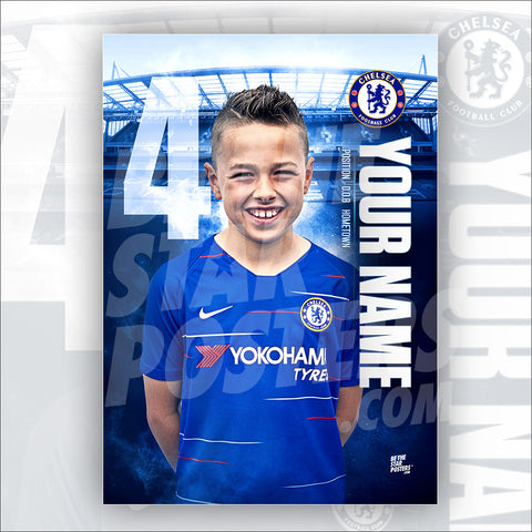 Chelsea FC Home Star Player Poster
