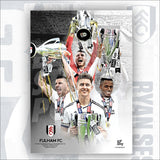 Fulham FC Players Official Licensed Poster
