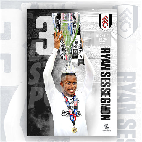 Fulham FC Ryan Sessegnon Poster - Official Licensed A3 Poster