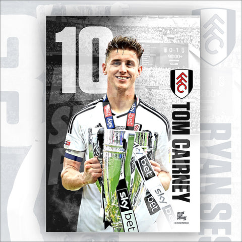 Fulham FC Tom Cairney Official Licensed Poster