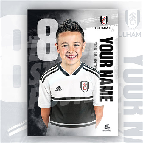 Fulham FC Home Star Player Poster