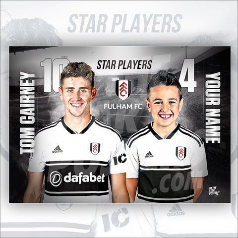 Fulham FC Tom Cairney Star Player Poster