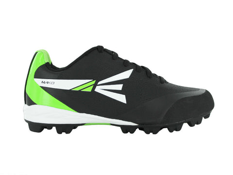 easton mako molded cleats green and black