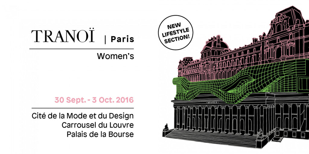 FUMIKODA will be exhibiting at Tranoï Femme, Paris