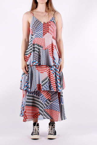 Anonyme - Cimpo Patch Dress - Multicolor