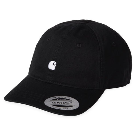 Carhartt - Madison Logo Cap - Black Wax