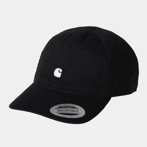 Carhartt - Madison Logo Cap - Black White