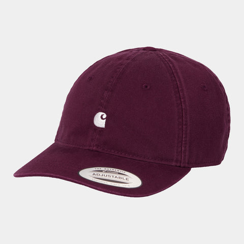 Carhartt - Madison Logo Cap - Shiraz Wax