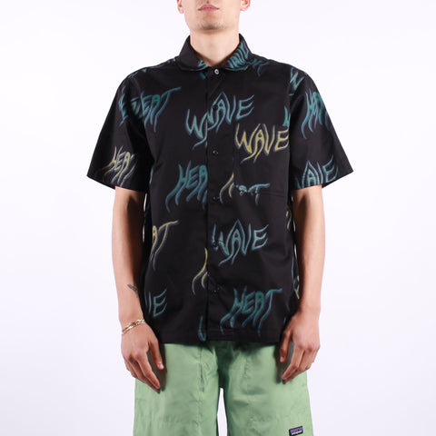 Carhartt - SS Heat Wave Shirt - Heat Wave Print Black
