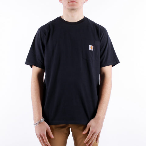 Carhartt - SS Pocket T-Shirt - Dark Navy