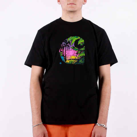 Carhartt - SS Sunset C T-Shirt - Black