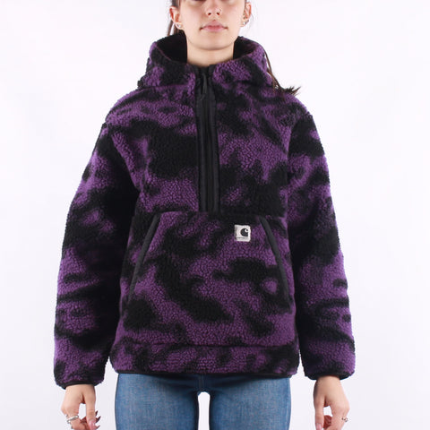Carhartt - W Hooded Loon Liner - Camo Blur Purple